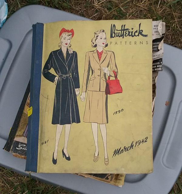 I Didn\'t Buy… Two 1940s Sewing Pattern Counter Books | The Vintage ...